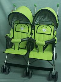 雙人並排嬰兒手推車 8888T-2